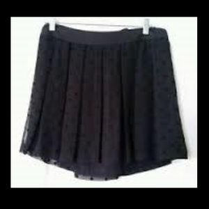 American Eagle Outfitters Skirts - AMERICAN EAGLE OUTFITTERS Black Pleated Mini Skirt